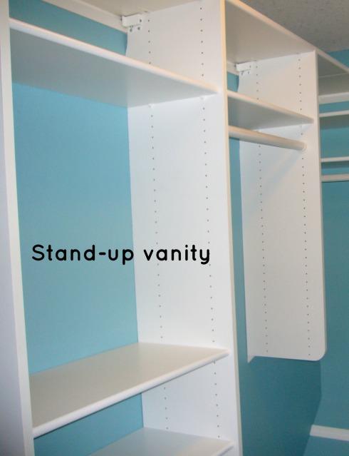 Standup Vanity