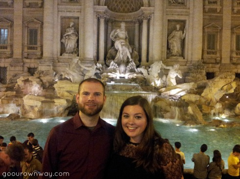 Trevi Night
